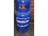 7kg Calor Gas empty bottle