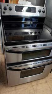 GUARANTEED WORKING STAINLESS STOVES PRICED EACH $495.00 AND $295.00