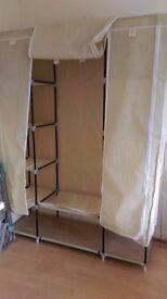 Large canvas wardrobe