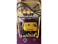 Wolf 3000psi petrol power jet pressure wash washer