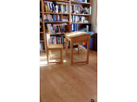 Sturdy childs desk and chair