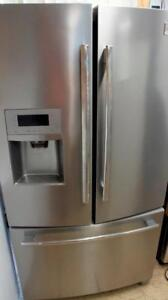 THREE STAINLESS FRIDGES FOR SALE , PRICED EACH GE, FRIGIDAIRE AND KINTCHENAID