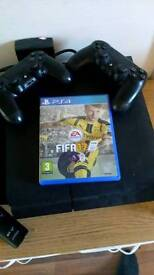 Ps4 with fifa 17