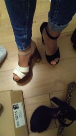 Two pair Shoes River Island Size 6