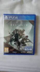 BRAND NEW SEALED DESTINY 2 FOR THE PS4