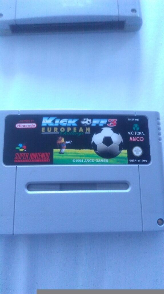 Kick off 3 for snes