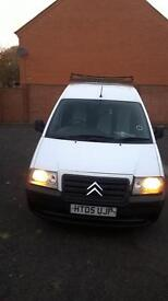 3 seater ply lined 2.0 hdi , good tidy van must see , Looked after used as a cleaning van..