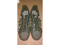 Adidas Superstar Skulls trainers, UK size 9, collectable