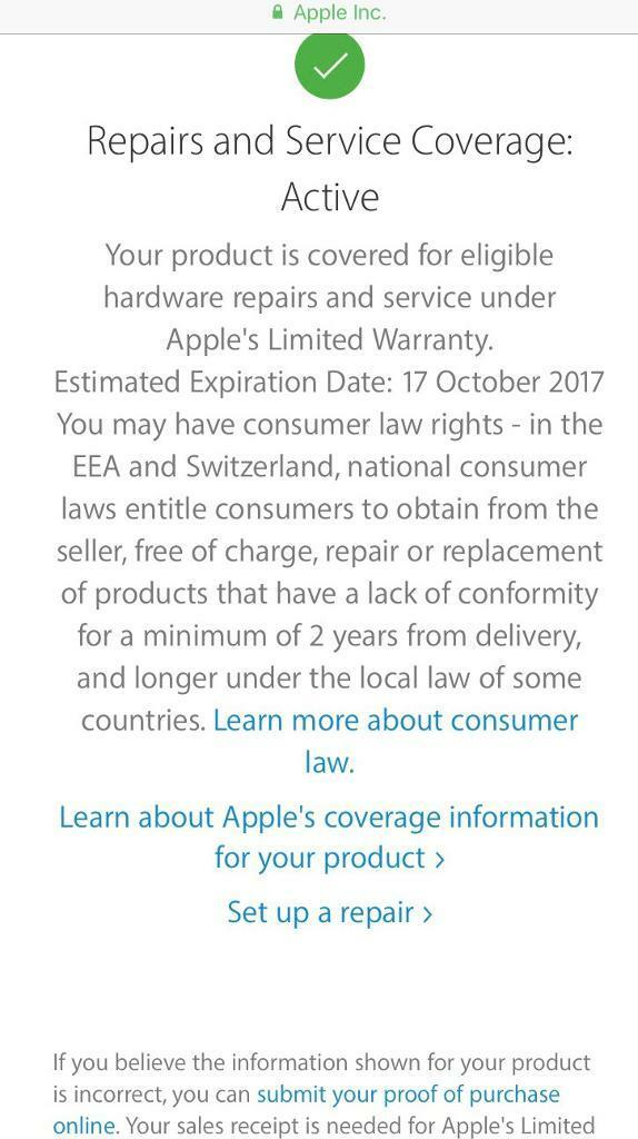 iPhone 5s white 16 gb on O2 apple warranty oct 17in Rochdale, ManchesterGumtree - iPhone 5s white 16 gb on O2 apple warranty oct 17. Brand new condition . With all original apple accessories