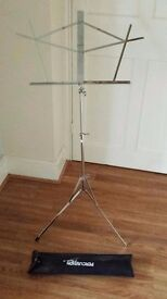 Percussion plus music stand