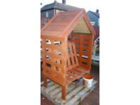 childrens garden arbour