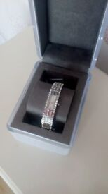 DKNY Swarovski Crystal Bracelet/Link Watch