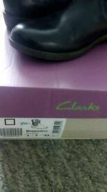 Clarks childrens ankle boot
