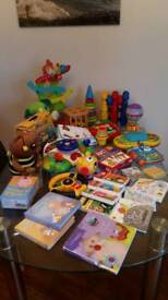 Huge toddler toy bundle 18 month onwards