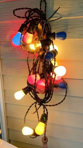 Vintage Christmas Lights
