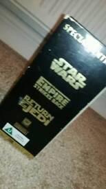 Star wars gold adittion vhs set