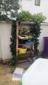 Garden shlef