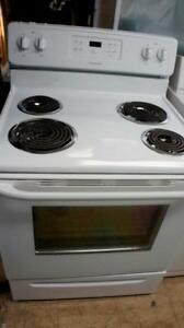 THREE WORKING COIL AND GLASS TOP  STOVES SELF CLEANING   STOVE $200.00 EACH