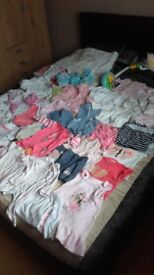Bundle of girls clothes and extras