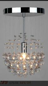 Denver Ceiling Light-Chrome-Used
