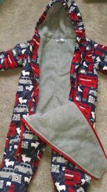 Baby Boden snowsuit 12-18 mnths