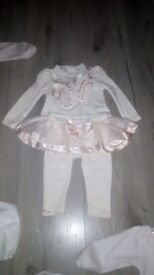 Baby girl clothes 10 pound each size newborn, 3-6,6-9 months
