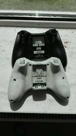 2 wireless xbox 360 game pads