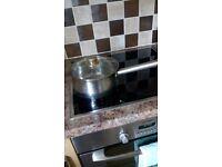 21 cm stainless steel saucepan