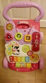 VTech first steps baby walker/toy