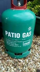 Patio calor gas bottle for sale