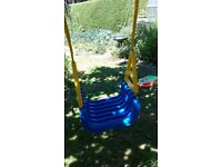 Child's safety swing - suitable for toddler to older child