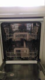 Zanussi Dishwasher standard size
