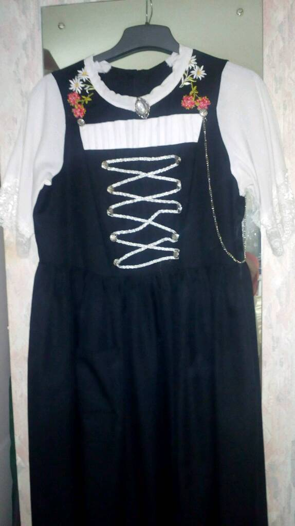 Swiss style dress