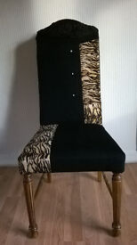 quirky patchwork vintage chair