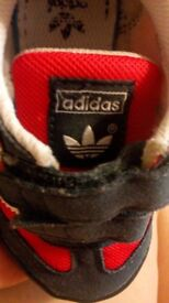 Baby boy Adidas shoes size 5
