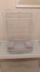 Large White Bird Cage.