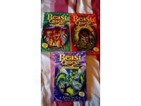 Beast Quest Books x 3