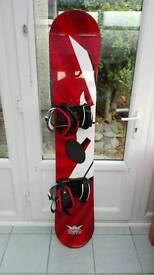 Limited edition Smirnoff Ice snowboard
