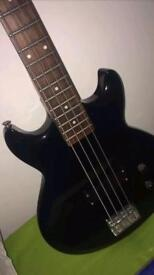 Ibanez black right hand bass guitar