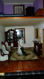 Large Georgian Dolls House For Sale