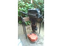 Evinrude 5hp 2 Stroke Long Shaft Outboard Engine Boat Motor