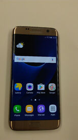 SAMSUNG GALAXY S7 GOLD GOOD CONDITION UNLOCKED