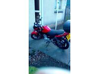 Yamaha YBR 125cc Red 2015 **SOLD**