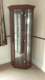 Corner Glass Display Cabinet