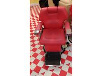2x Barber chairs