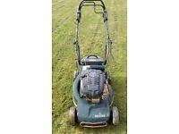 Hayter lawn mower