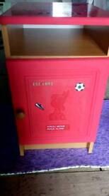 Liverpool FC bedside locker