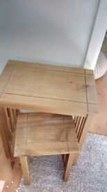 Two coffee tables