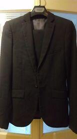 Topman skinny suit rrp£100+