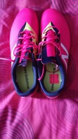 Mens New Balance Furon Football Boots (Cherry) Size 9 UK